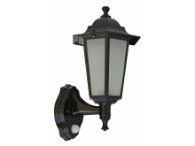 Hanoi Outdoor PIR Light Black