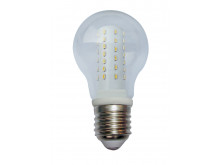 3822 LED 5W Clear GLS ES/E27 Cap