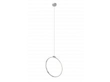 Arlington Single Suspension Pendant With Large Full Circle Arm