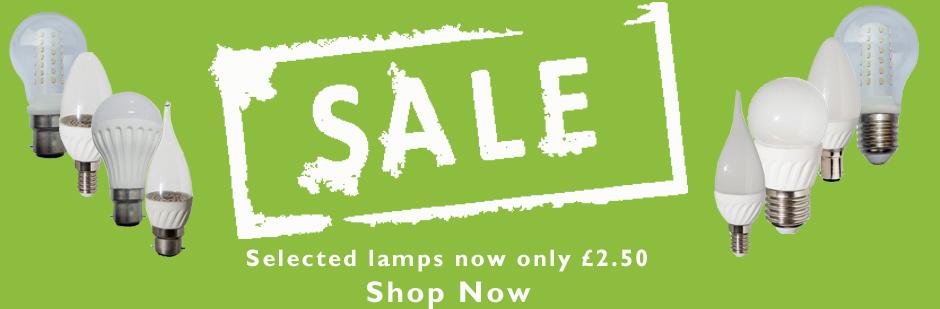 sale lamp banner