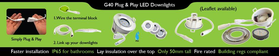 G40 plug and play banner