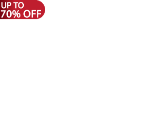 *Up to 70% off