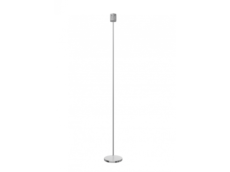 6 way hexagon floor lamp base chrome aloadofball Choice Image