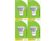 8210 GU10/L1 LED Spot Dimmable *4 Pack Bundle*