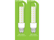 8600 L1/GU10 Tube Lamp LED 3.5w Clear Glass (2896 and 2317 replacement) * 2 Pack Bundle*