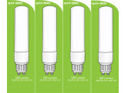 8602 Tube Lamp LED L1/GU10 3.5w Frosted (2898 & 2317 Replacement) * 4 Pack Bundle*