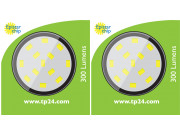 8620 3.5W G40 SMD LED Clear Round Lamp (5410/5412 Replacement) *2 Pack Bundle*