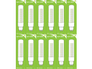 8600 L1/GU10 Tube Lamp LED 3.5w Clear Glass (2896 and 2317 replacement) *12 Pack Bundle*