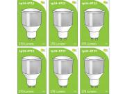 8722 LED 3.5W Opaque Spot L1/GU10 Cap (2886, 2884 & 2318 Replacement) *6 Pack Bundle*