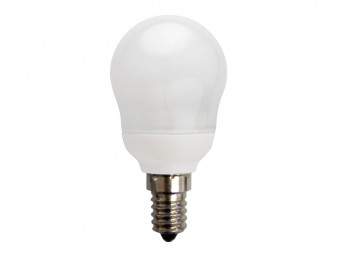 1613 CFL 7W Frosted Golfball SES Cap