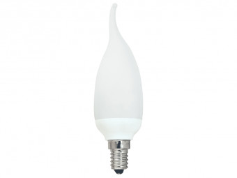 1622 CFL 7W Frosted Candle Tip SES Cap
