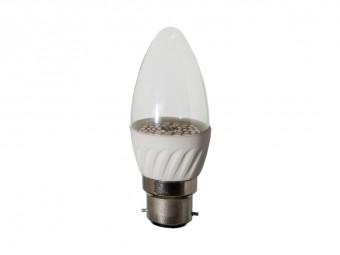 3756 LED 4W Clear Candle BC/B22 Cap