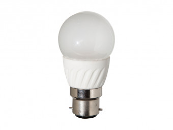 3761 LED 4W Frosted Golfball BC/B22 Cap