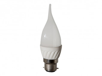 3771 LED 4W Frosted Candle Tip BC/B22 Cap