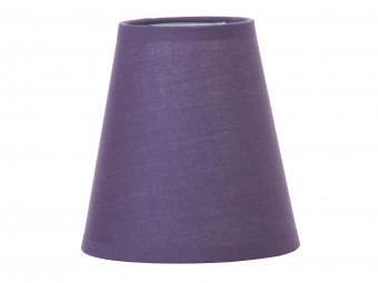 Clip-on Shade Aubergine