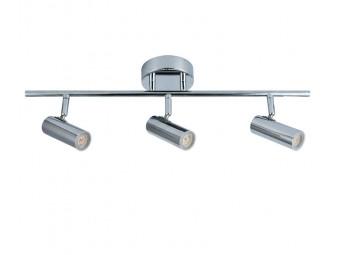 5124 California 3 spot bar in chrome with Built in LED bulbs