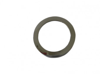 G40 Round Cover Satin Silver