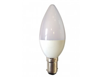 8030 5w B15/SBC LED Frosted Candle