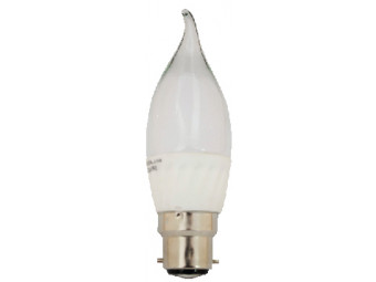 8041 5w BC/B22 Frosted LED Candle Tip