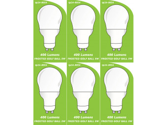 8054 5w L1 LED FROSTED GOLF BALL *Replacement for 4901, 4902 2861, 2313* *6 Pack Bundle*