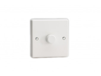Varilight Single white dimmer switch 2 way