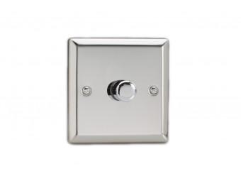 Varilight Single chrome dimmer switch 2 way