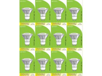 8210 GU10/L1 LED Spot Dimmable *12 Pack Bundle*