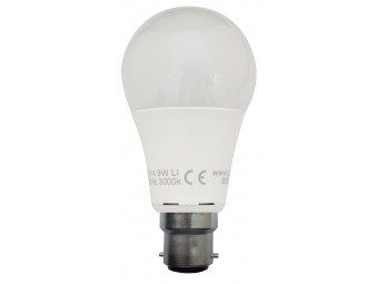 8511 LED 9W Frosted GLS BC/B22 Cap