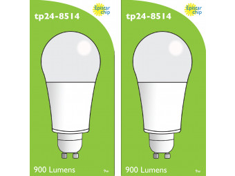 8514 LED 9W Frosted GLS L1/GU10 Cap (2315 Replacement) *2 Pack Bundle*