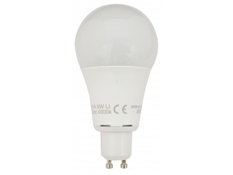8516 LED 9W Cool White Frosted GLS L1/GU10 cap (2315 Replacement) 4000K