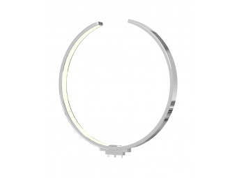 9160 Open Circle Chrome Arm