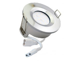 5768 G40 IP65 Downlight Chrome Inc 4000K Dimmable Daylight Lamp
