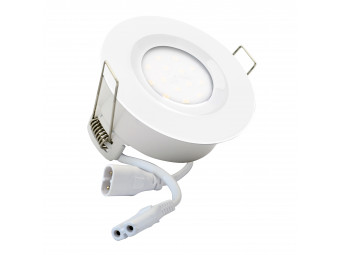 5740 G40 IP65 Downlight White Inc Dimmable Lamps  *12 Pack Bundle*