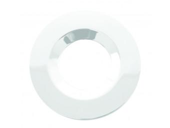 G40 White Round Bezel