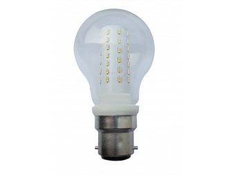 3821 LED 5W Clear GLS BC/B22 Cap