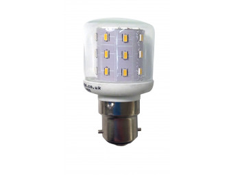 3784 LED 3W Clear Pygmy BC/B22 Cap