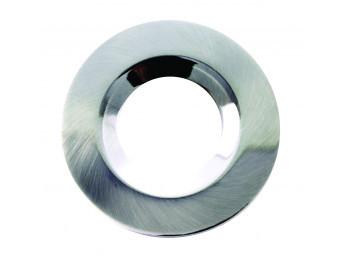 G40 Satin Silver Round Bezel