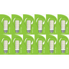 3822 LED 5W Clear GLS ES/E27 Cap *12 Pack Bundle*