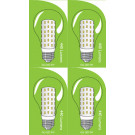 3822 LED 5W Clear GLS ES/E27 Cap *4 Pack Bundle*