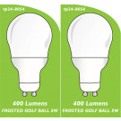 8054 5w L1 LED FROSTED GOLF BALL *Replacement for 4901, 4902 2861, 2313* *2 Pack Bundle*