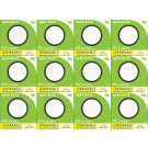 8136 G40 SMD 5W Round Frosted Dimmable 4000K (daylight) *12 Pack Bundle*