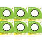 8132 Frosted Round G40 SMD LED Dimmable *6 Pack Bundle*