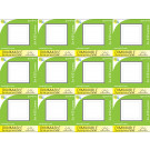 8142 Frosted Square G40 SMD LED Dimmable *12 Pack Bundle*