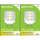 8162 L1X 3W Dimmable Pygmy Lamp *2 Pack Bundle*