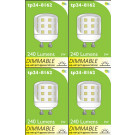 8162 L1X 3W Dimmable Pygmy Lamp *4 Pack Bundle*