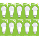 8516 LED 9W Frosted GLS L1/GU10 cap (2315 Replacement) 4000K *10 Pack Bundle*