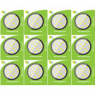 8620 3.5W G40 SMD LED Round Lamp (5410/5412 Replacement) *12 Pack Bundle*