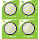 8620 3.5W G40 SMD LED Round Lamp (5410/5412 Replacement) *4 Pack Bundle*