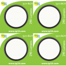 8624 3.5W G40 SMD LED Round Frosted *4 Pack Bundle*
