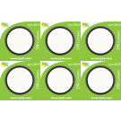 8624 3.5W G40 SMD LED Round Frosted *6 Pack Bundle*